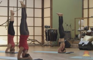 how to do headstand pose