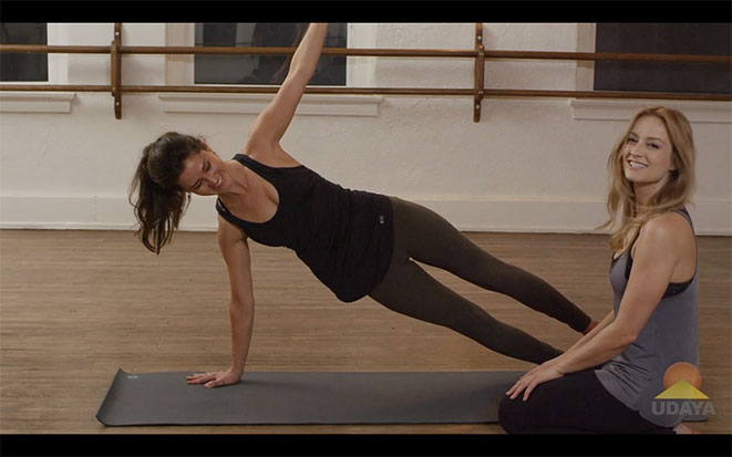 How To Do Side Plank, Yoga Tutorial