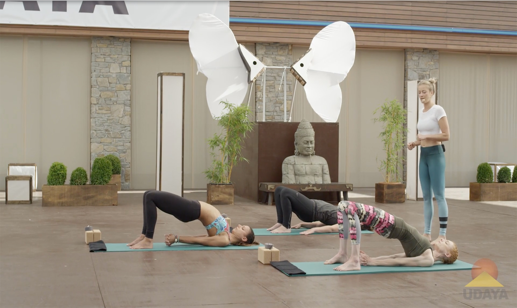 Yoga to Rekindle Creativity. Part I: Remove the Blockages - Bridge pose