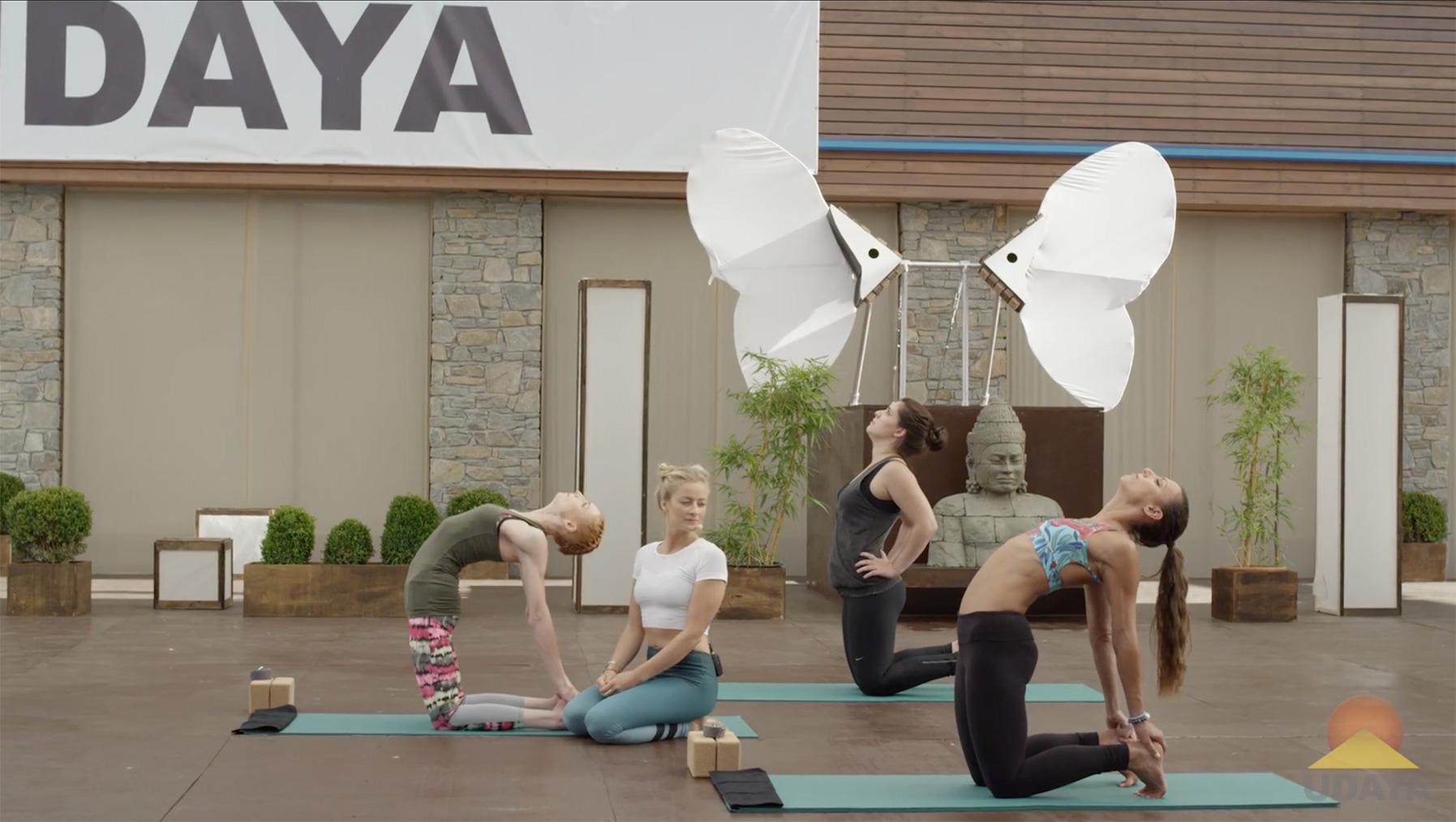 Yoga to Rekindle Creativity. Part I: Remove the Blockages - Camel pose
