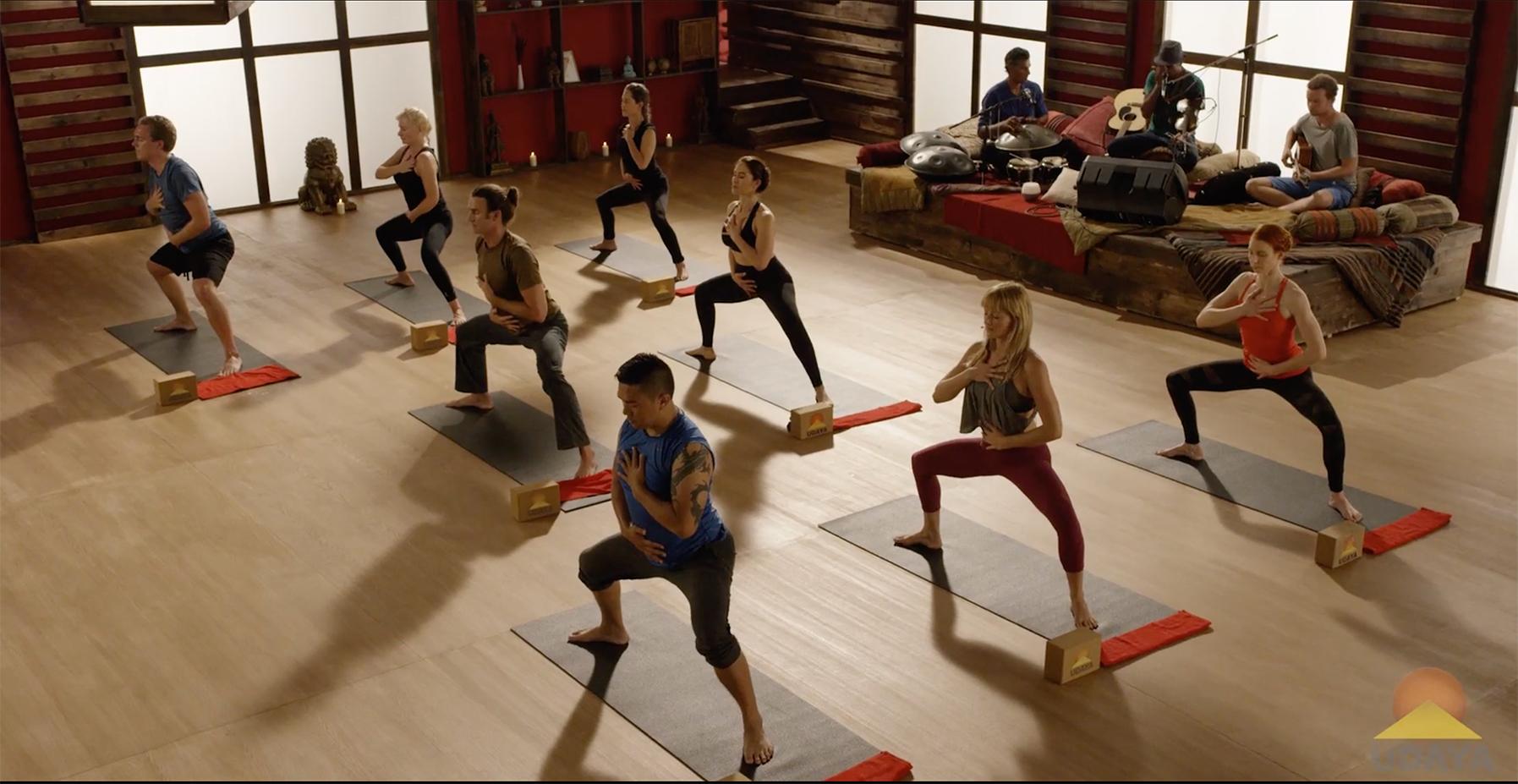 Yoga to Rekindle Creativity. Part I: Remove the Blockages - Goddess pose