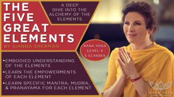 The Five Great Elements Sianna Sherman Yoga